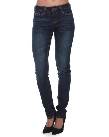 COOGI Blue Coogi Skinny Jeans W/Pocket Print
