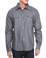 Syn Jeans - Westerm Denim Button-Down