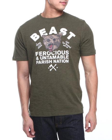 Parish - Men Green Rhino T-Shirt