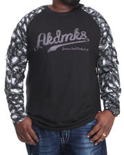 Akademiks - D'Angelo Leopard Print L/S Shirt (B&T)