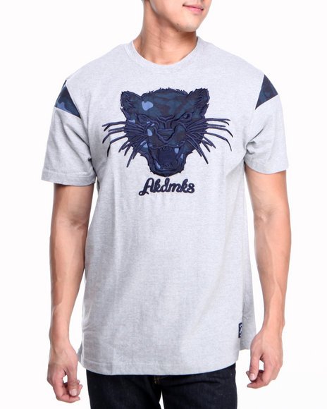 Akademiks - Men Grey Fang Tee - $10.99