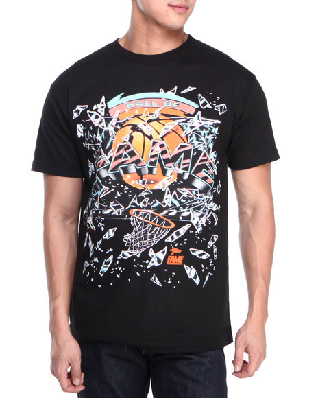 Hall of Fame Black Backboard Tee