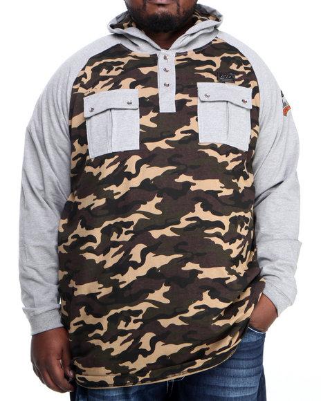 COOGI Grey Coogi Camo Pullover Hoodie (Big & Tall)