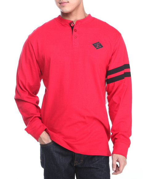 Enyce - Men Red Griffin L/S Henley