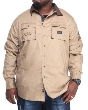 COOGI - Coogi SGT. L/S Button down shirt (B&T)