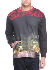 Filthy Dripped - Lion Roses Crew Sweatshirt