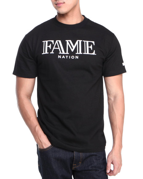 Hall of Fame Black Fame Nation Tee