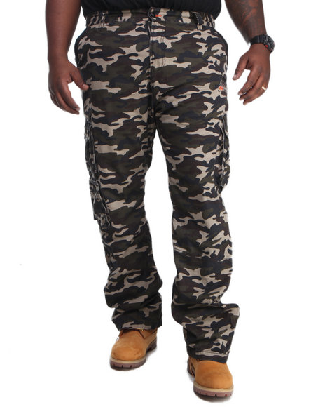 COOGI Camo Coogi Cargo Pants (Big & Tall)