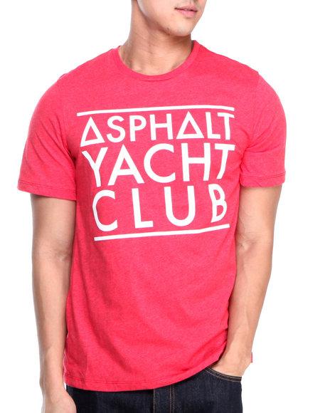 Asphalt Yacht Club Red Basic Tee
