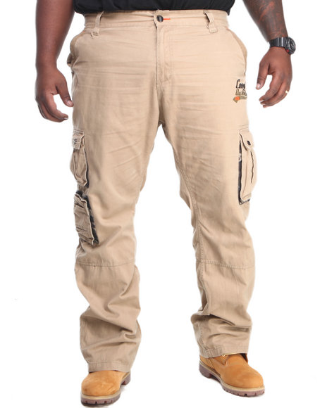 COOGI Khaki Coogi Cargo Pants (Big & Tall)