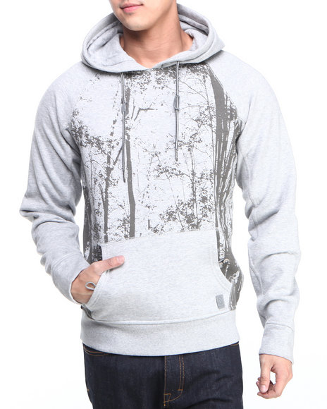 Parish - Men Grey Gavial Hoodie