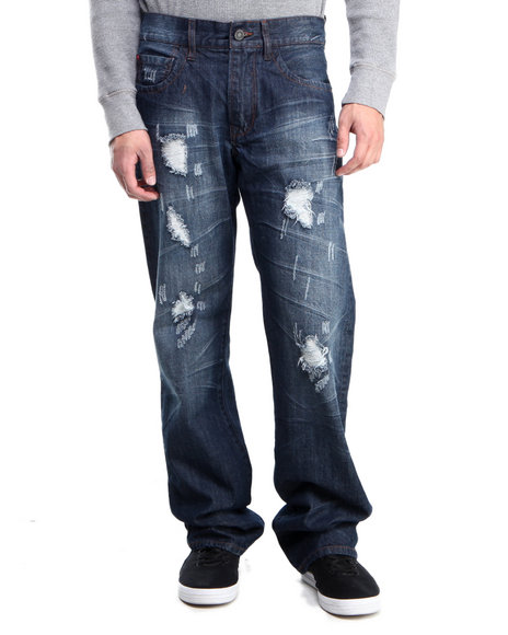 Syn Jeans - Men Medium Wash Prankster Denim Jeans