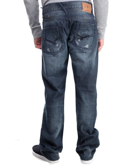 Syn Jeans - Men Light Wash Prankster Denim Jeans