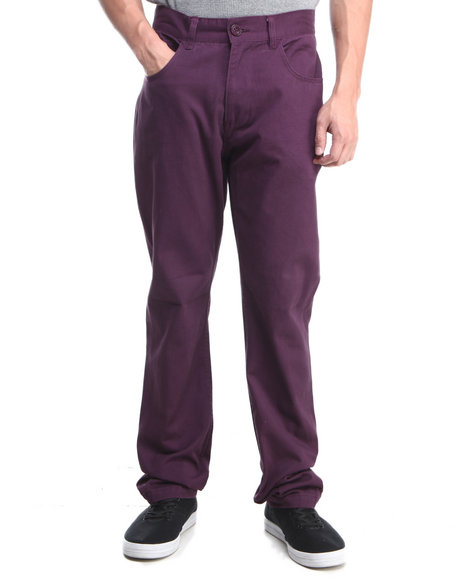 Syn Jeans - Men Purple Bleeker Chino
