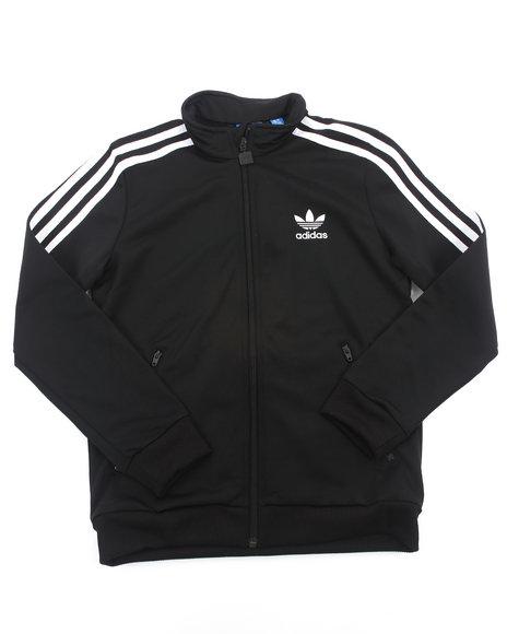 Adidas Boys Black Firebird Track Jacket