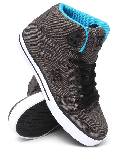 Dc Shoes - Men Black Spartan Hi Wc Tx Se Sneakers - $74.99
