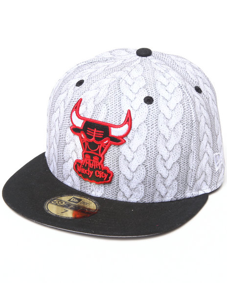 New Era - Men Multi Chicago Bulls Depeptiteam 5950 Fitted Hat