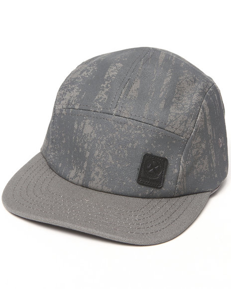 Parish Eagle 5 Panel Cap Grey