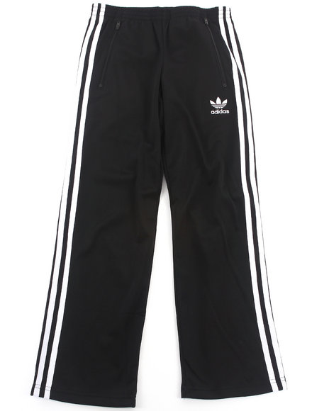 Adidas - Boys Black Firebird Track Pants