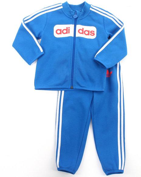 Adidas - Boys Blue Street Diver Tracksuit - $33.99