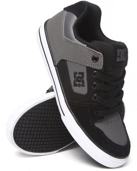 DC Shoes Boys Black Pure Sneaker (Boys)