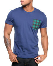 Adidas - Plaid Pocket Tee