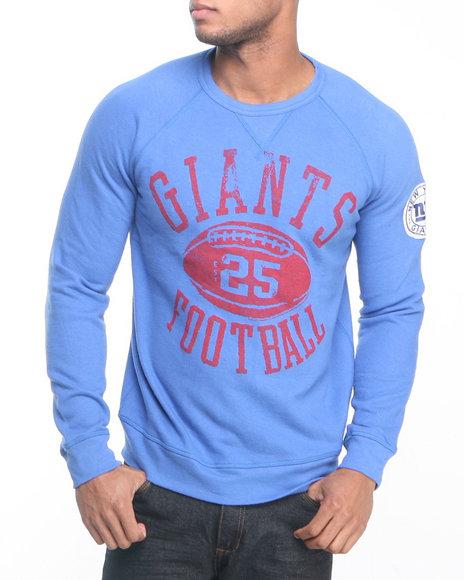 Junk Food Blue New York Giants Field Goal Fleece Sweatshirt