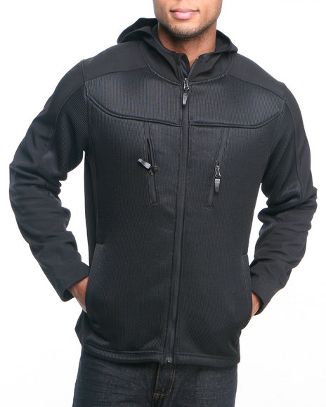 - Black Softshell Jacket
