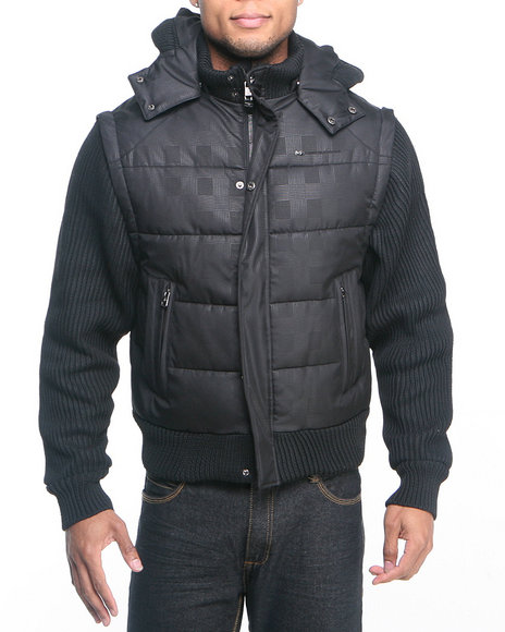 Pelle Pelle by Marc Buchanan - MB Zip-Off Sleeves Jacket