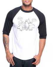 Men - Deadline x SSUR Pussy/Chicken 3/4 Sleeve Raglan Tee