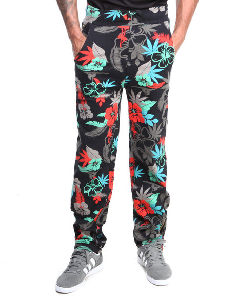 Filthy Dripped Black Wild Life Sweatpants