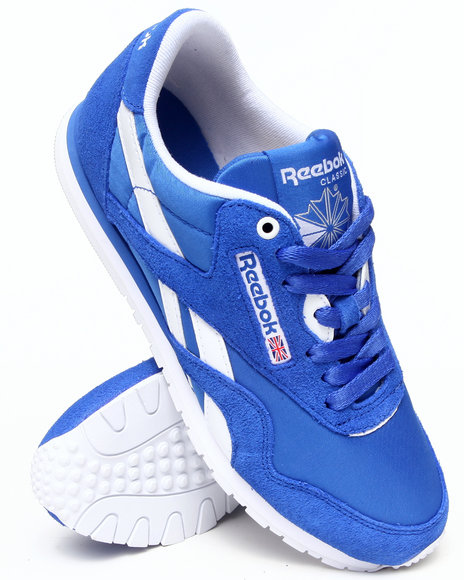 Reebok Blue Cl Nylon Slim Sneakers