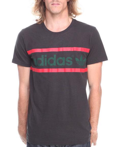 Adidas Black Heritage Logo Tee