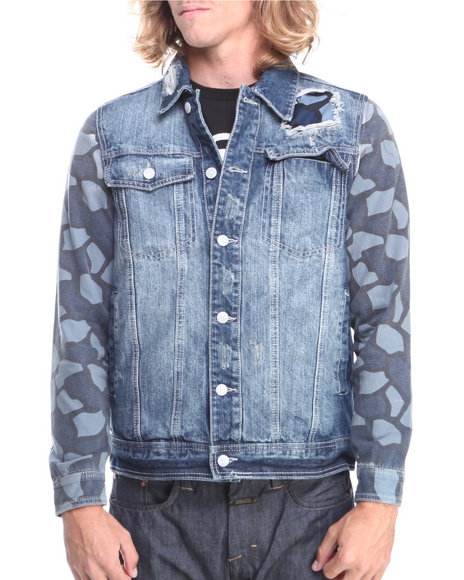Parish Dark Wash Untamable Denim Jacket
