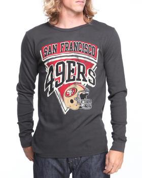 NBA, MLB, NFL Gear - San Francisco 49ers Time Out Thermal Shirt