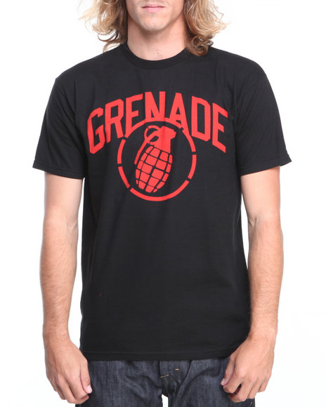 Grenade Red,Black Arena Stenz Tee
