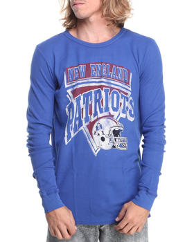 Junk Food - New England Patriots Time Out Thermal Shirt