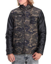 Heavy Coats - Quilted Nylon Jacket