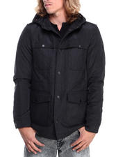 Heavy Coats - Wool Body Jacket w/ Nylon Detailng