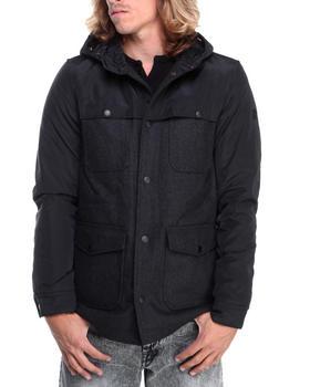 English Laundry - Wool Body Jacket w/ Nylon Detailng
