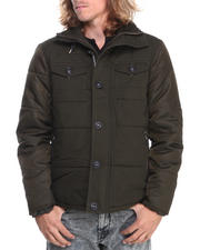 Men - Steve Madden Cotton Nylon Double Pocket Jacket