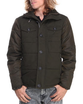 - Cotton Nylon Double Pocket Jacket