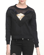 Tops - Black Star Sweatshirt