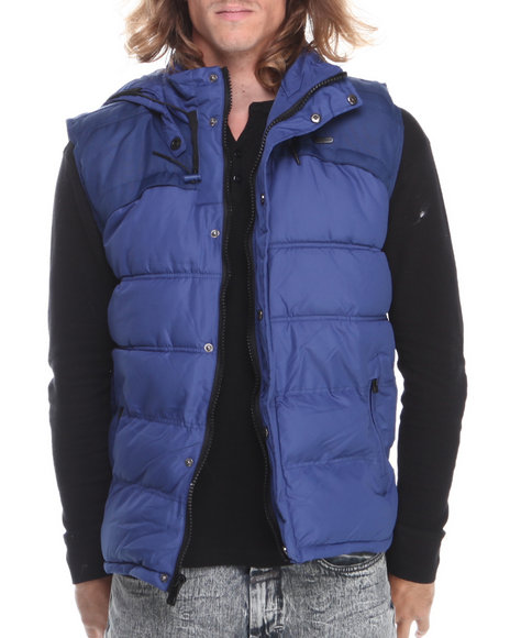 Rocawear Blue Puffer Vest