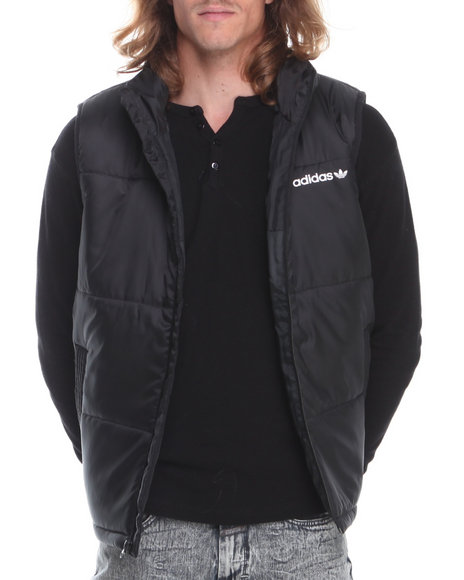 Adidas - Men Black Ac Padded Vest