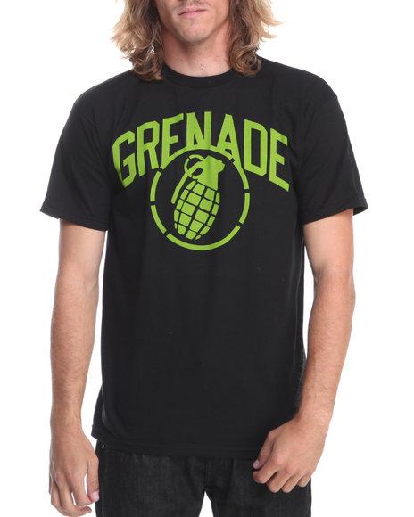 Grenade - Men Black,Green Arena Stenz Tee - $10.99