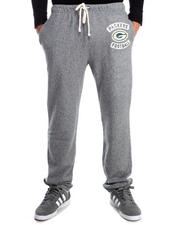 NBA, MLB, NFL Gear - Green Bay Packers Sunday Sweatpants with Patch