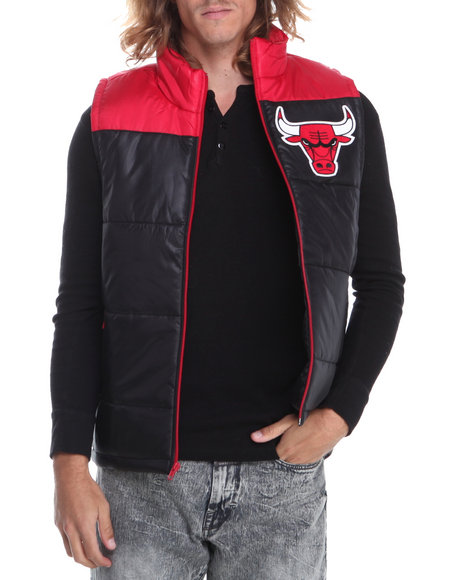 Mitchell & Ness - Men Black Chicago Bulls Nba Winning Team Vest