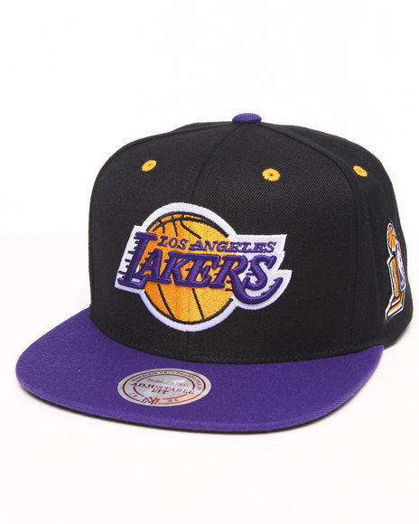 Mitchell & Ness Los Angeles Lakers 2002 Nba Finals Commemorative Black
