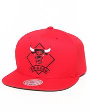 Mitchell & Ness - Chicago Bulls NBA HWC / Current Arched Diamond Logo Snapback Hat